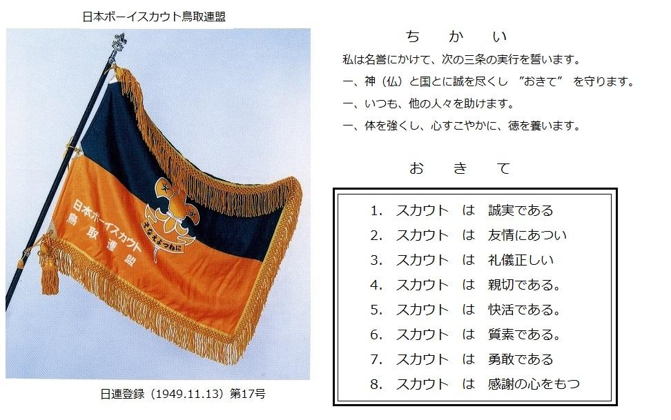 鳥取連盟旗-1